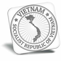 Awesome Fridge Magnet bw - Socialist Republic Of Vietnam Travel  #41833