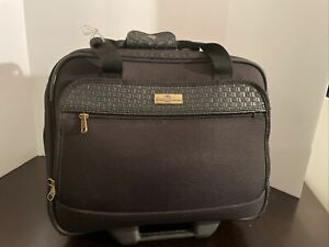 """Tommy Bahama Luggage 17"""" Nassau Wheeled Carry-ON - See Pics/details For Flaws"""