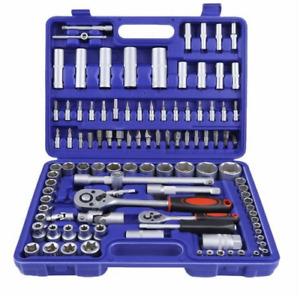 Valigetta set chiavi a bussola 94 pezzi kit da officina con chiave a cricchetto