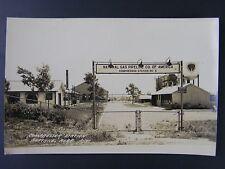 Beatrice Nebraska Compressor Station Gas Pipeline Real Photo Postcard RPPC c1940