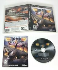 Top Gun: Hard Lock for PlayStation 3 PS3 / COMPLETE w/ MANUAL / RARE