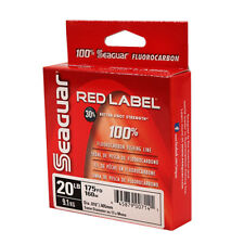 New! Seaguar Red Label 100% Fluorocarbon 175 Yard Fishing Line (20 Pound 20Rm175