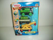 Thomas Wooden Train by Tomy Percy, Steamworks Barrel Car, Cargo & Kevin LC98147