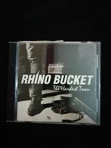 Rhino Bucket - The Hardest Town  CD Album