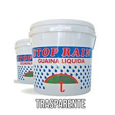 Guaina Liquida Trasparente Impermeabile Calpestabile 4 Lt Incolore Terrazzo
