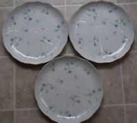 SET OF 3  MIKASA  SPRING MELODIES  LIGHT TOUCH  FV 903   DINNER  PLATES 11 1/4""