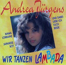 ANDREA JÜRGENS : WIR TANZEN LAMBADA / CD - TOP-ZUSTAND
