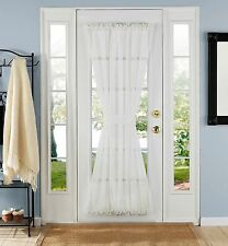 Elegance Voile Door Panel, 60 By 72-inch, White