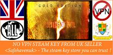 Resident Evil 5 Gold Edition (Inc. DLC) STEAM Key no VPN Region Free UK Verkäufer