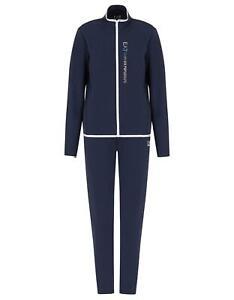 EA7 Emporio Armani 7 - Tuta Donna Blu Giacca Pantaloni
