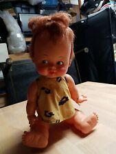 Vintage 1960's Pebbles Flintstones Doll Ideal Hanna Barbara