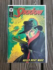 The Shadow 1 Hell's Heat Wave Cover Signed by Michael Kaluta NM Condition