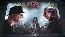 Freddy Vs Jason Voorhees Krueger 11X17 Movie Poster Teaser Landscape