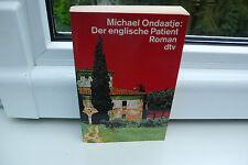 BUCH DER ENGLISCHE PATIENT MICHAEL ONDAATJE ROMAN WELTLITERATUR TASCHENBUCH !!!!