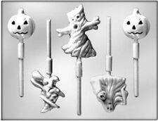 Halloween Assortment Chocolate Lollipop Candy Mold from CK #3230