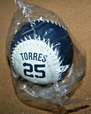 NY New York Yankees Gleyber Torres #25 blue & white baseball ball