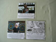 YIP MAN job lot of 3 promo CDs For Your Own Good Barnburner Silver Wings