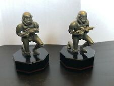 Star Wars 2 IMPERIAL STORMTROOPER FINE PEWTER rare danbury mint 1996 pawn chess