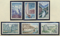 France Stamps Scott #1124//1130, Mint Never Hinged, Short Set Missing #1125