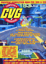 * Computer CVG + Videogiochi N°33 /GEN.1994 * LE PRIME RECENSIONI X JAGUAR & 3DO