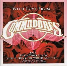 COMMODORES - WITH LOVE FROM (NEW CD)
