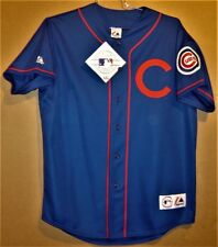 Chicago Cubs Royal Blue Prototype Jersey By Majestic (Size Large)