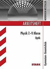 Arbeitsheft Physik 7. - 9. Klasse. Optik. Arbeitshe...   Buch   Zustand sehr gut