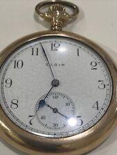 Pocket Watch. Runs Great Elgin 14k Gold Filled