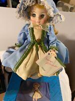 "Vintage Madame Alexander Manet #1571 Doll Blue Dress Shoes 13"" NIB   SKU 021-056"