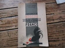 RARE BROCHURE ANTI COMMUNISTE INFLUENCE MOSCOU CLAUDE JEANTET VAUQUELIN COLLABO