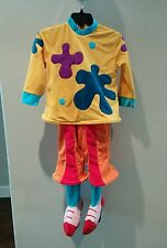 JOJO'S The Clown CIRCUS Disney Costume 5/6 Small Girls Halloween Costume