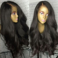 Brazilian Body Wave Full Lace Human Hair Wigs Lace Front Wavy Wig With Baby Hair