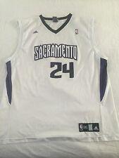 Sacramento Kings Adidas Bobby Jackson Jersey  #24 Adult XXL 2XL Basket NBA White