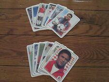 EUSEBIO SOCCER CARD SET 12 CARDS; PORTUGAL; FOOTBALL; FUTEBOL