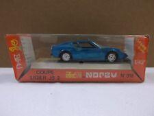 Vintage Norev 1/43 Jet Car Speed Run Metal Coupe Ligier JS 2 In Blue No.818