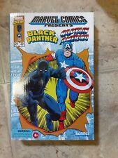Marvel Legends Retro CAPTAIN AMERICA & BLACK PANTHER 3.75 Hasbro Pulse Exclusive
