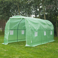 Large 15'x7'x7' Walk In Portable Greenhouse Hot Green House Plant Gardening