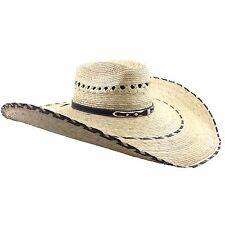"Milani Guacho Cowboy Ranch Large 20"" Straw Hat"