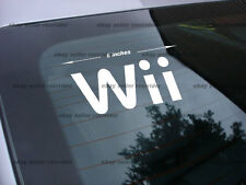 Nintendo Wii decal sticker video game console *fs