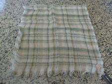 Polo RALPH LAUREN Plaid Linen Scarf Made in Italy
