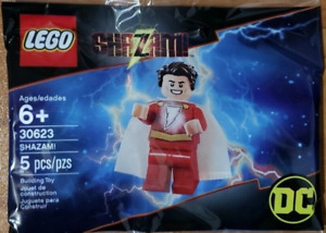 LEGO SHAZAM! minifigure Set #30623 - 5 Pieces (DC Comics Super Heores) NEW