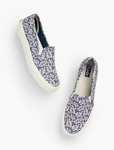 Keds Women's Double Decker Floral Slip-On Sneakers