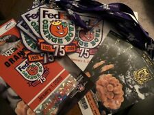 75th FedEx Orange Bowl 1/1/2009 NCAA Football 4 Tickets 4The Patch Badge Parking