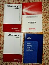 2009 Toyota Camry Hybrid Owners Manual Set w/Navigation Booklet~ Good Condition