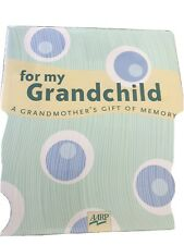 New listing For My Grandchild Hardcover Book New Grandmother's Gift Of Memory Book