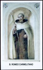 santino-santo card B.ROMEO carmelita