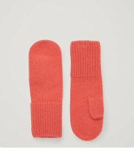 100% Cashmere Kid's Gloves Red (COS) New With Tag