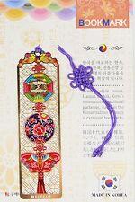 Traditional Korean reader Metal Bookmark - Korean Pattern