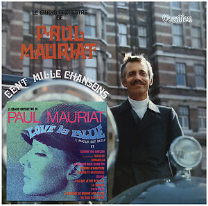 Paul Mauriat & His Orchestra Love is Blue & Cent Mille Chansons - CDLK4523