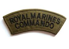 Royal Marines Commando Patch Sew on British Navy Military Jacket Drill Cap Badge